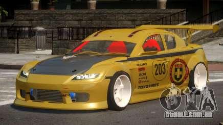 Mazda RX8 S-Tuned PJ3 para GTA 4