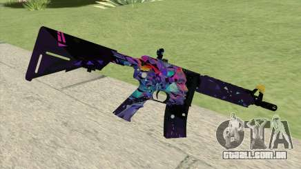 M4A4 (Glass Queen) para GTA San Andreas