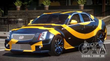 Cadillac CTS-V LR PJ3 para GTA 4