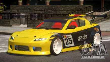 Mazda RX8 S-Tuned PJ5 para GTA 4