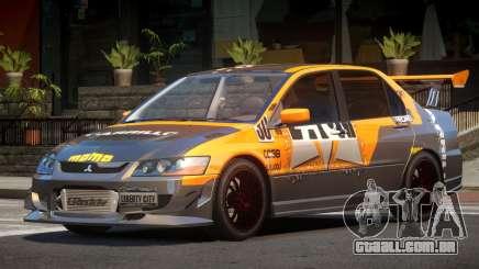Mitsubishi Lancer S-Tuned PJ4 para GTA 4