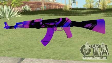 AK-47 (Purple) para GTA San Andreas