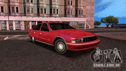 Chevrolet Caprice 1993 SA Estilo para GTA San Andreas