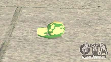 Modified Grenade para GTA San Andreas