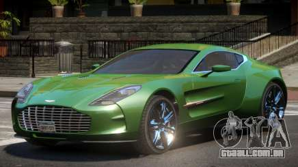 Aston Martin One-77 LS para GTA 4