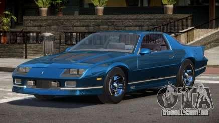 Chevrolet Camaro IR para GTA 4