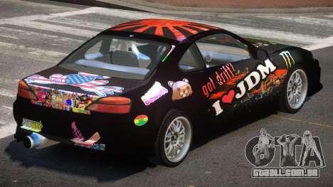 Nissan Silvia S15 M-Sport PJ4 para GTA 4