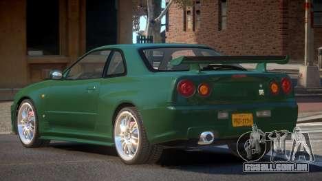 Nissan Skyline R34 GTR V1.0 para GTA 4