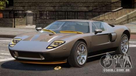 Ford GT M-Sport para GTA 4