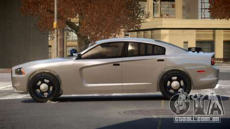 Dodge Charger Spec Police para GTA 4