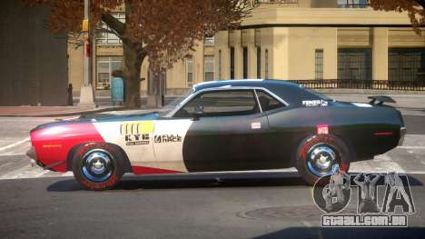 1969 Plymouth Cuda GT PJ5 para GTA 4