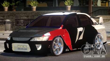 Mitsubishi Lancer G-Style PJ5 para GTA 4