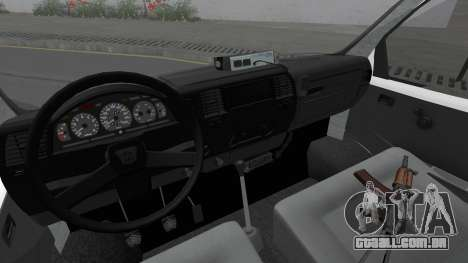 Gazela 32213 Móvel, estação de polícia de trânsi para GTA San Andreas