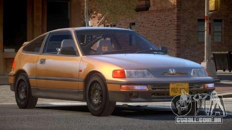1994 Honda CRX V1.3 para GTA 4
