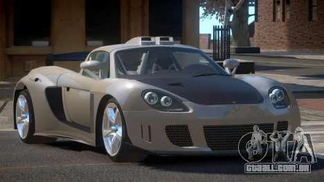 Porsche Carrera GT L-Tuning para GTA 4