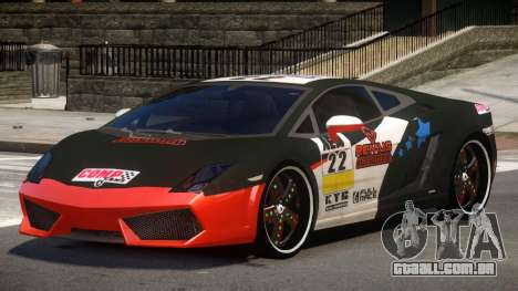 Lamborghini Gallardo LP560 MR PJ3 para GTA 4