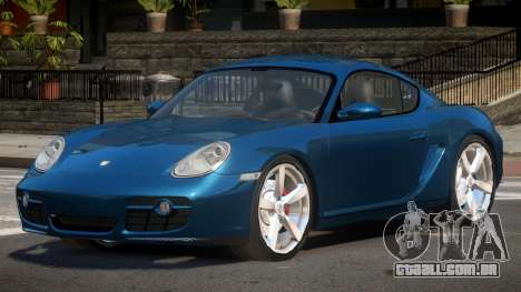 Porsche Cayman TDI para GTA 4