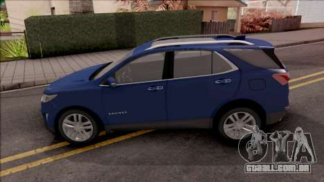 Chevrolet Equinox 2020 para GTA San Andreas