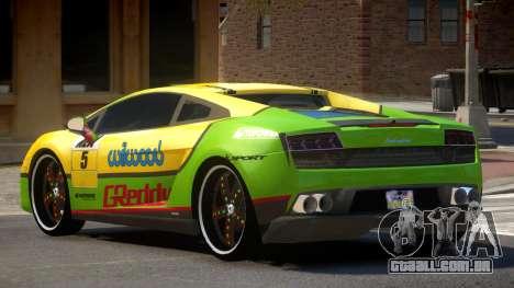 Lamborghini Gallardo LP560 MR PJ2 para GTA 4