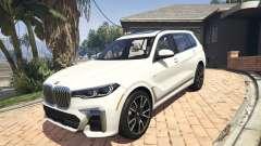 2020 BMW X7 Tuning v.1.0 [Add-On] para GTA 5
