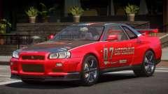Nissan Skyline R34 GT-Style PJ4 para GTA 4