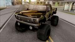 Monster A Camo Edition para GTA San Andreas