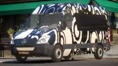 Mercedes Benz Sprinter MR PJ4 para GTA 4