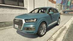 Audi Q7 Comfort Line version 1.1 para GTA 5