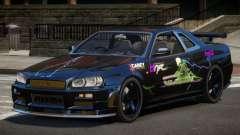 Nissan Skyline R34 SL PJ6 para GTA 4