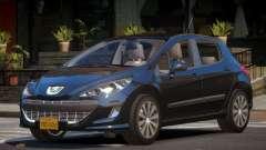Peugeot 308 RT V1.0 para GTA 4