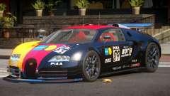 Bugatti Veyron SR 16.4 PJ6 para GTA 4
