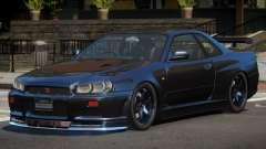 Nissan Skyline R34 SPE para GTA 4