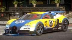 Bugatti Veyron SR 16.4 PJ2 para GTA 4