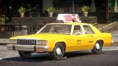 Ford LTD Crown Victoria Taxi V1.0 para GTA 4