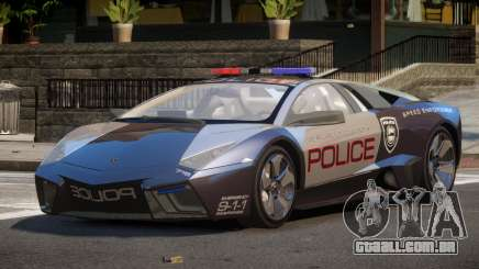 Lamborghini Reventon MS Police para GTA 4