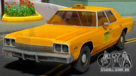 Dodge Monaco 1974 Taxi para GTA San Andreas