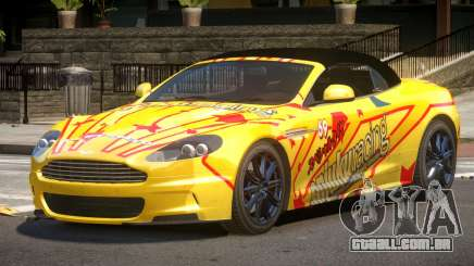 Aston Martin DBS Volante SR PJ5 para GTA 4