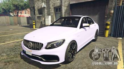 2020 Mercedes-AMG C63s AMG Replace 2.0 para GTA 5