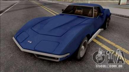 Chevrolet Corvette C3 Pickup para GTA San Andreas