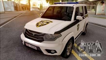 UAZ Patriot Serbian Military Police para GTA San Andreas