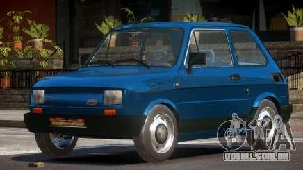 1989 Fiat 126P para GTA 4