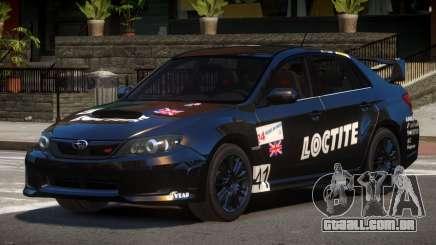 Subaru Impreza WRX SR PJ5 para GTA 4