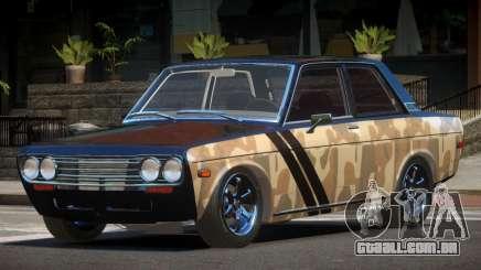 1972 Datsun Bluebird 510 PJ1 para GTA 4