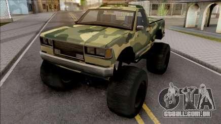 Monster B Camo Edition para GTA San Andreas