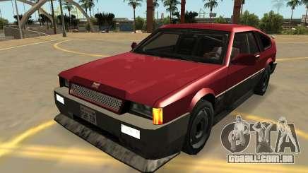 Dinka Blista Compact (FIV-Emblemas-Extras-PJ) para GTA San Andreas