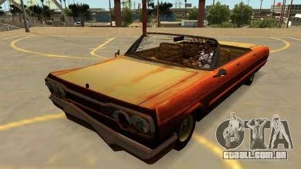 Declasse Savana Rusty (FIV-Emblemas-Extras-PJ) para GTA San Andreas