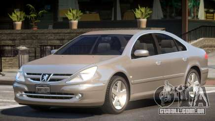 Peugeot 607 V1.0 para GTA 4