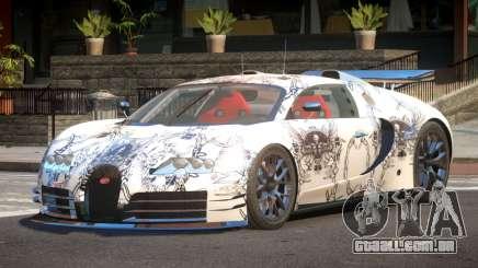 Bugatti Veyron SR 16.4 PJ5 para GTA 4