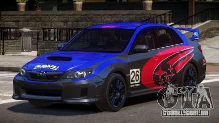 Subaru Impreza WRX SR PJ4 para GTA 4