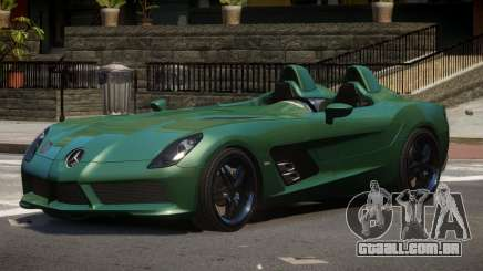 Mercedes Benz SLR TRG48 para GTA 4